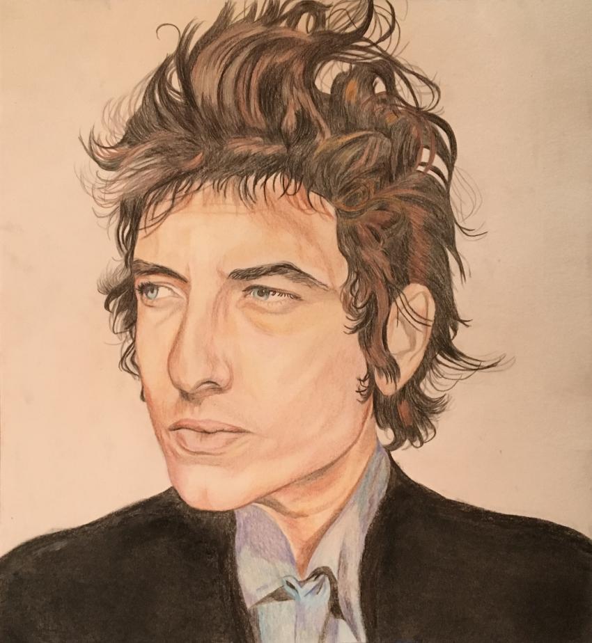 Bob Dylan by -Jeanne